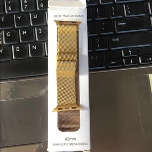 42mm Milanese Loop Band for Apple Watch - Gold